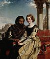 Othello and Desdemona by William Powell Frith (1840–1856, Fitzwilliam museum).jpg
