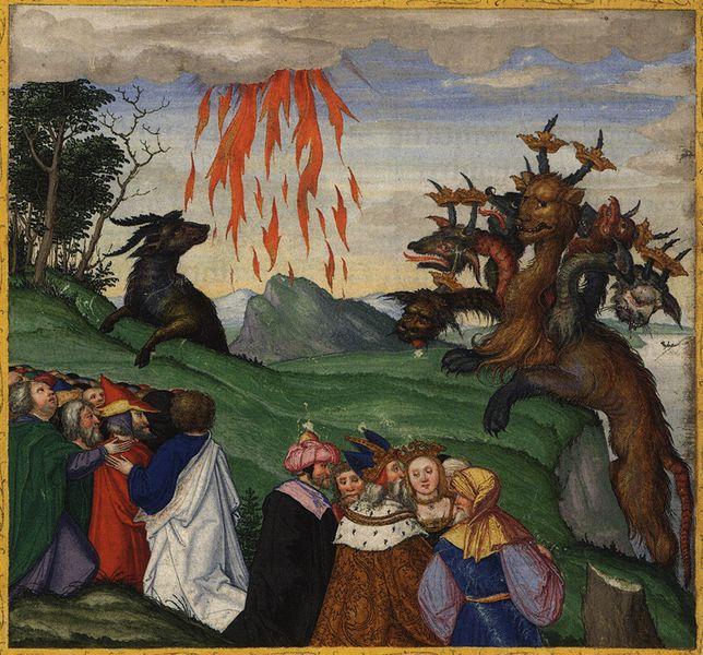 Апокалипсис Иоанна Богослова. Свободное изображение Викимедии.