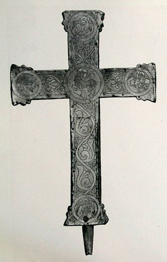 Cross of Otto and Mathilde - Backside of the Cross of Otto and Mathilde