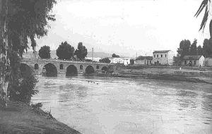 James Hill (British Army officer) - The bridge at Medjez el Bab.