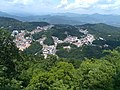 Overlooking Jiuhua Town from Baisui Palace 05.jpg