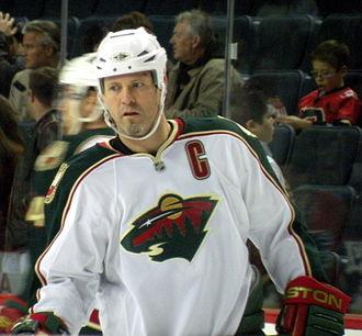 Owen Nolan - Nolan with the Minnesota Wild in 2009