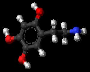 Oxidopamine - Image: Oxidopamine 3D balls