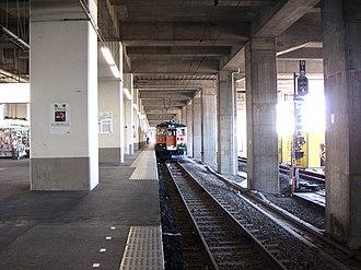 Oyama Station - A Ryōmō Line 115 series train at Oyama