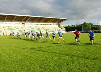 Páirc Seán Mac Diarmada - Leitrim Gaelic football team training at Páirc Seán Mac Diarmada