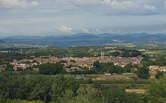 Pézenas - A general view of Pézenas