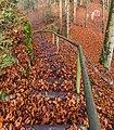 Pörtschach Leonstein Gloriettenweg Treppe zur Hohen Gloriette 28112019 7590.jpg