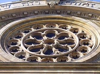 Grand Synagogue of Paris - Image: PA00089001 Synagogue de Paris (rosace)