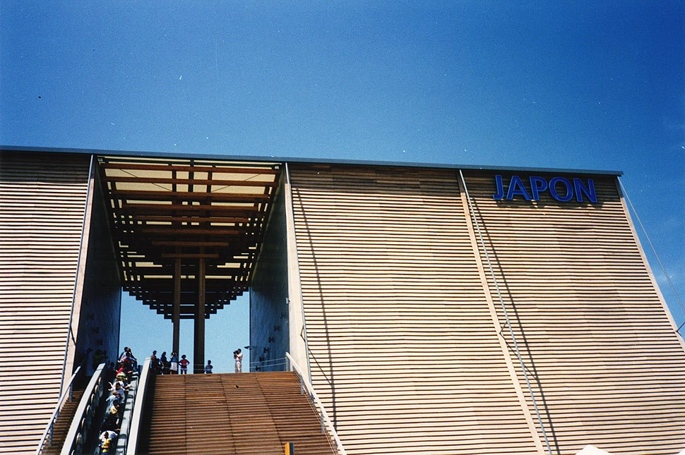 Pabellon de japon expo 92