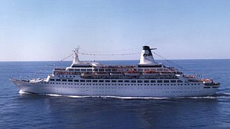 MS Pacific - Pacific Princess off the US West Coast
