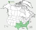 Packera tomentosa US-dist-map.png