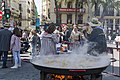 Paella a la Plaça de la Reina, Falla Tio Pep 09.jpg