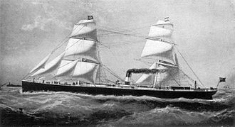 Charles Wells (gambler) - Steam yacht Palais Royal (formerly Tycho Brahe)