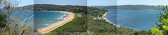 Palm Beach, New South Wales - The view south from Barrenjoey Headland