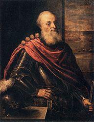 Palma il Giovane: Portrait of Vincenzo Cappello