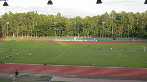 Panaad Stadium field