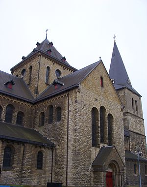 Pancratiuskerk - North side of the Pancratiuskerk