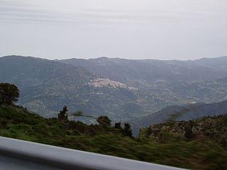 Lodè Comune in Sardinia, Italy