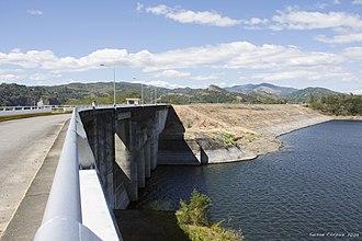 Pantabangan, Nueva Ecija - Image: Pantabangan Dam