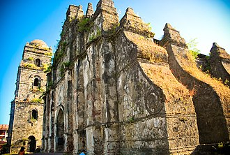 Spanish Colonial architecture - Paoay Church