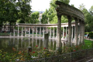 Parc Monceau - The classical colonnade in Parc Monceau (1778)
