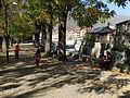 Park scene along Pena River in Tetovo, Macedonia.jpg