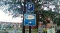 Parking route sign, Winschoten (2019) 09.jpg