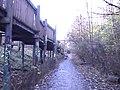 Parkland Walk - children's playground near Crouch Hill Bridge - geograph.org.uk - 1621858.jpg