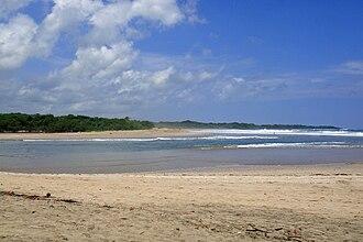 Las Baulas National Marine Park - Playa Grande at Las Baulas park entrance