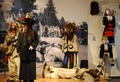 Part of exhibition presenting Carnival in Maramures, Maramures Village Museum - Part of ethnographic exhibition.tif