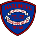 Patch of the Harlingen Police Department (2002).png