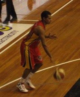Patty Mills - Mills during his stint with the Melbourne Tigers