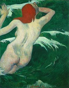"Paul Gauguin - ""In the waves"" or ""Ondine"" - 1889.jpg"