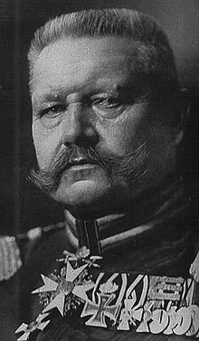 General paul von hindenburg essay