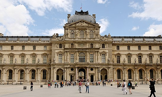 Pavillon de l horloge wikipedia - Construction of the louvre ...