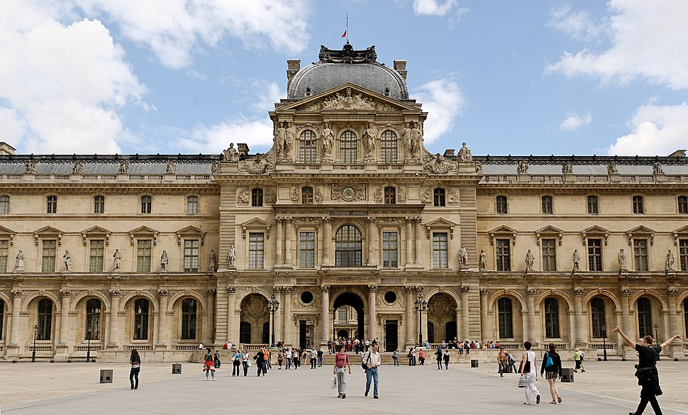 Pavillon Sully Louvre 2007 06 23