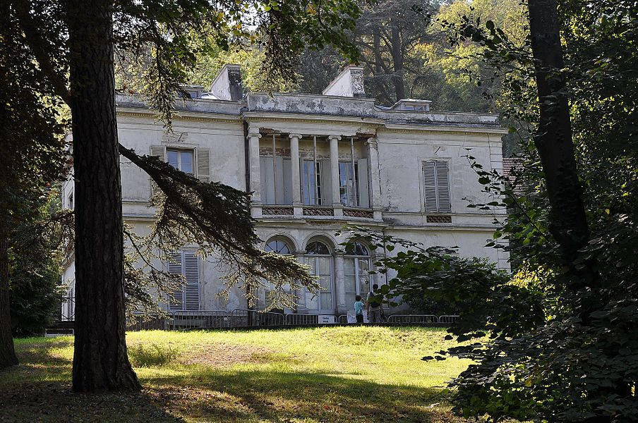 Pauline Viardot's Manor House at Bougival, Yvelines in France