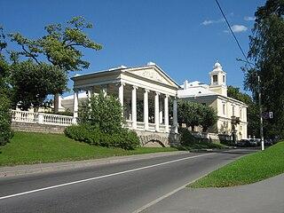 Pavlovsk, Saint Petersburg Municipal Town in Saint Petersburg, Russia