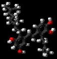 Pawhuskin A molecule ball.png