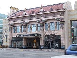 Peery's Egyptian Theater - Image: Peery's Egyptian Theatre Ogden Utah