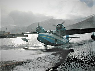Akutan, Alaska - Grumman Goose Pen Air at Akutan AK
