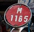 Penang rikshaw number plate.jpg