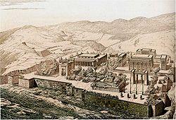 Persepolis vue d'oiseau Chipiez.jpg
