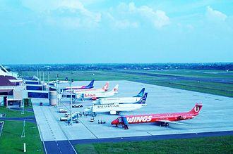 Wings Air - Wings Air MD-80 at Sultan Mahmud Badaruddin II Airport