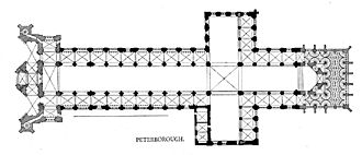 Peterborough Cathedral - Plan
