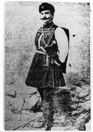 Aspasia Manos - Petros Manos, Aspasia's father.