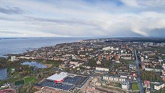 Petrozavodsk - Aerial view of Petrozavodsk