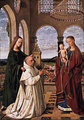 Mary with the Child, St. Barbara and a Carthusian Monk