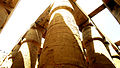 Pharonic Column in Karnak Temple , Luxor.JPG