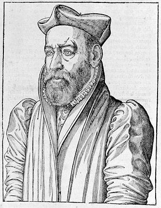 Philibert de l'Orme - Portrait of Philibert de l'Orme, from a book of 1626